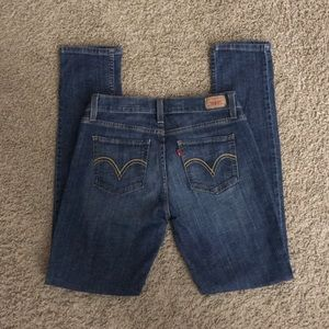 Levi's 524 Too Super Low Skinny Jeans Size 9 M